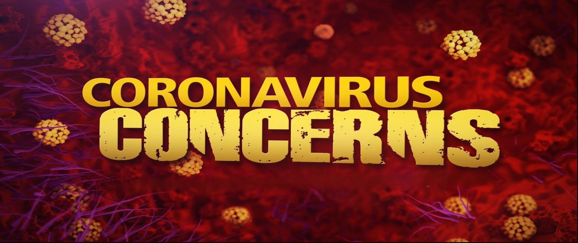 coronavirus concerns graphic
